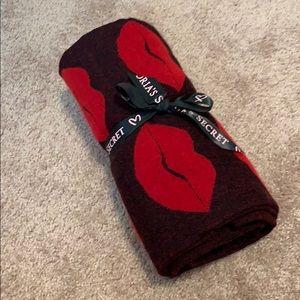 Victoria's Secret throw blanket